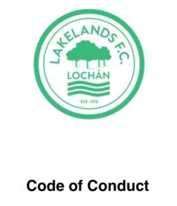 Lakelands Code of Contact